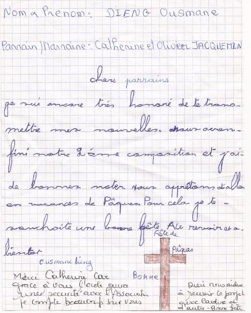Lettre de Pâques